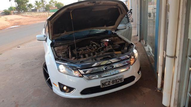 Fusion 2011 motor 2.5 com teto solar com 58.700 km rodados - Foto 15