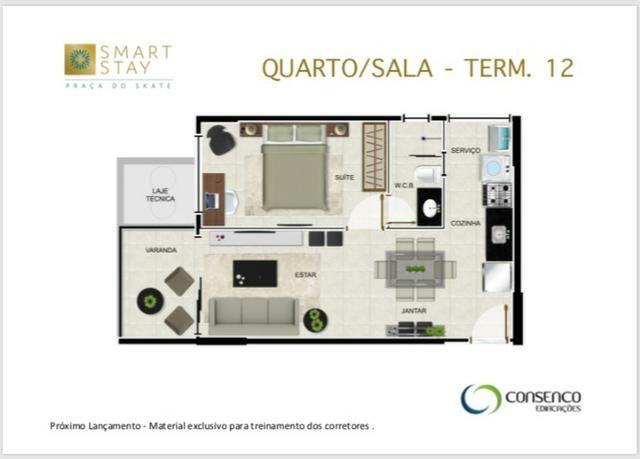 Smart Stay na Ponta Verde, Apartamentos Quarto/Sala em até 120 meses ! - Foto 5