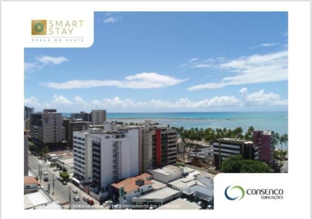 Smart Stay na Ponta Verde, Apartamentos Quarto/Sala em até 120 meses ! - Foto 8
