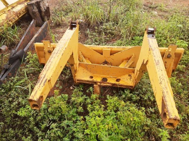 Lâmina dianteira 2,0 metros para trator Valmet 68 ou 78 - No estado - Foto 5