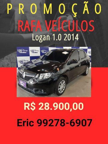 Logan 1.0 2014 com mil de entrada - Rafa Veiculos -eric-tt20