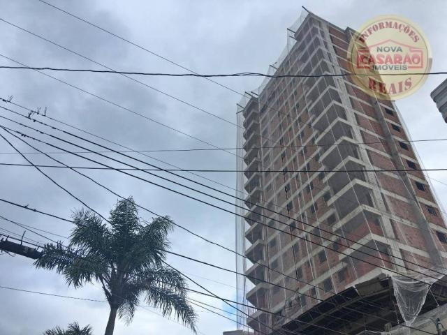 Apartamento com 1 dormitório à venda, 44 m² por R$ 209.777 - Caiçara - Praia Grande/SP - Foto 2