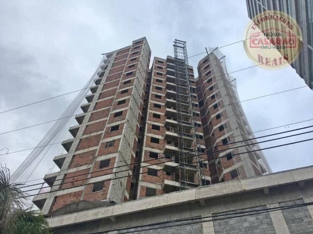 Apartamento com 1 dormitório à venda, 44 m² por R$ 209.777 - Caiçara - Praia Grande/SP