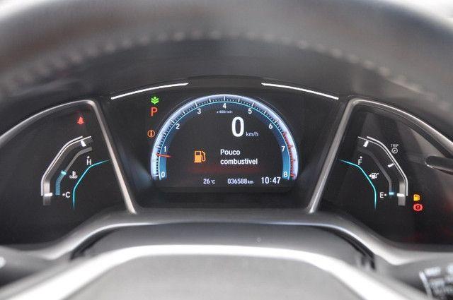 Civic Touring CVT 1.5 Top De Linha / Teto Solar / Baixo KM - Foto 5