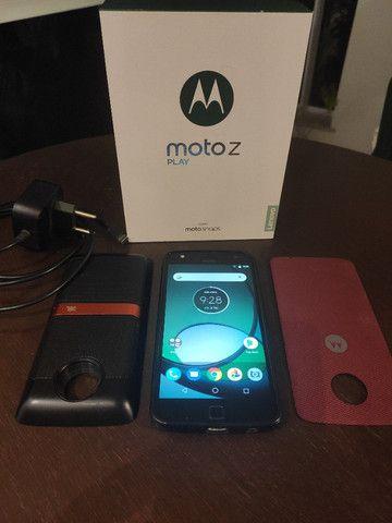 Celular Moto Z Play 32 gb com Moto Snap JBL - Foto 2