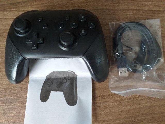 Pro Controller - Nintendo Switch - Novo - Foto 2