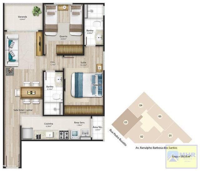 Apartamento a venda em Jardim Camburi 2 quartos 1 suíte (código:PL0011) - Foto 19