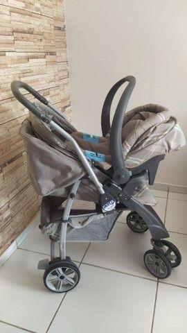 Kit carrinho e bebê conforto burigotto  - Foto 5