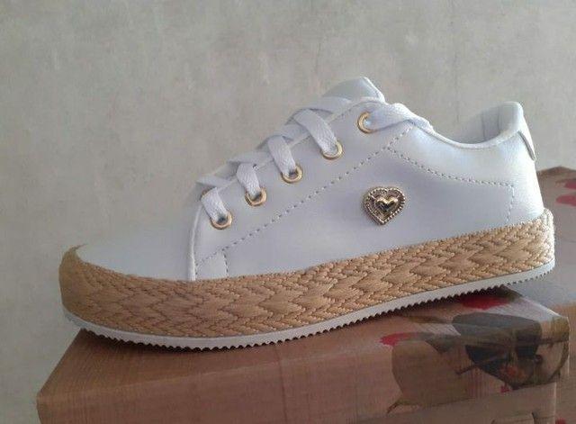 Sapatos In Confort ( Solado Palha Feminino ) - Foto 2