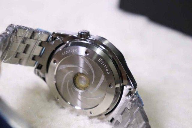 Relogio  - Mostrador Grande em 3D - Produto Pesado e Grande cheio de estilo   - Foto 4