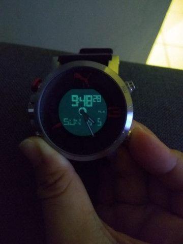 Relógio Puma original anadigi supernovo (baixei pra vender logo) - Foto 3