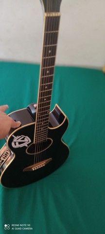 Vendo violão Eagle gl36 elétrico - Foto 3