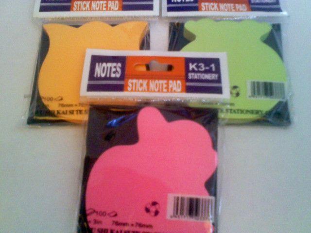 Kit - Bloco De Nota ( 3 Unidades) R$ 15,00