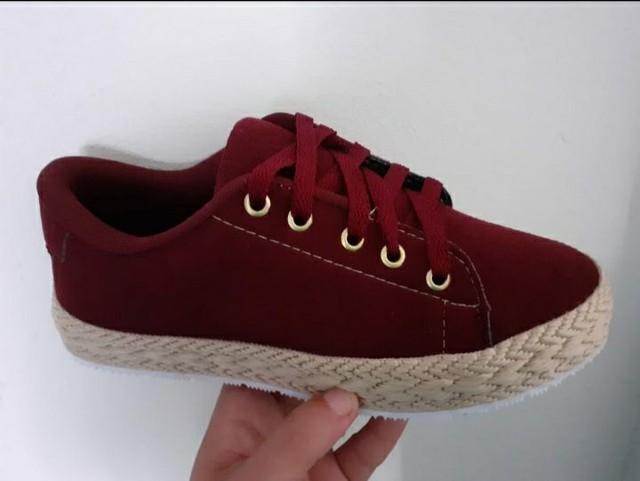 Sapatos In Confort ( Solado Palha Feminino ) - Foto 3