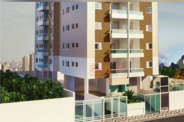 Apartamento 2 dormitórios no Canto do Forte em Praia Grande - Foto 2