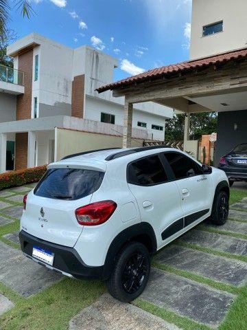 Renault Kwid Outsider 1,0 12V 2020 top de linha.  - Foto 5