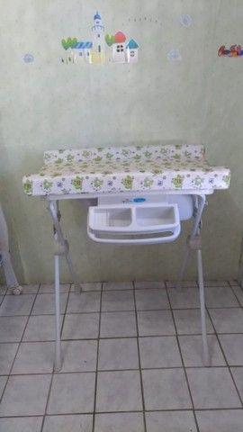 Banheira com trocador de bêbê burigoto - Foto 2