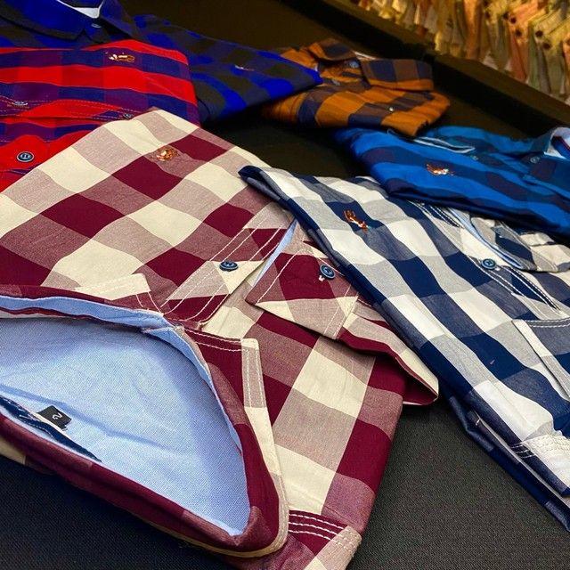 Camisa Xadrez Manga Longa - Loft For Men - Foto 4