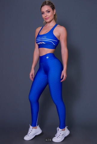 Conjuntos calça legging + top e short + top - Foto 3