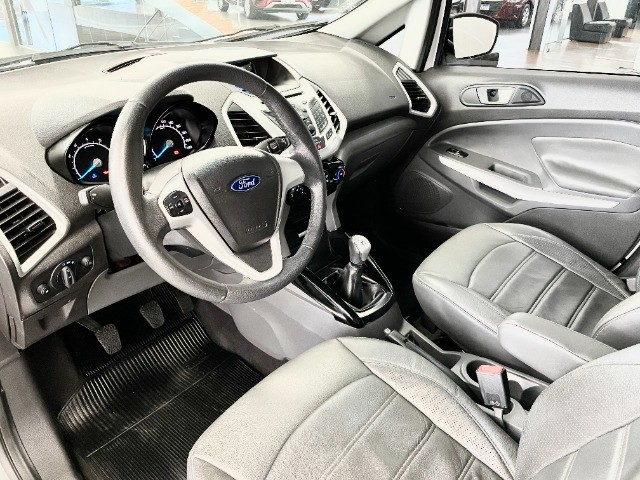 Ford Ecosport 1.6 Freestyle + Couro e Pneus novos - Foto 4