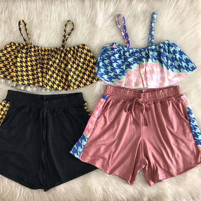 Blusas, vestidos, Croped xadrez - Foto 3