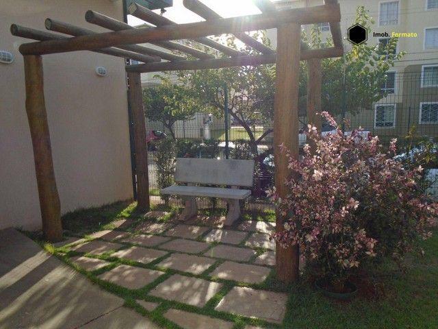 Apartamento com 2 dormitórios para alugar, 55 m² por R$ 1.100,00/mês - Rita Vieira - Campo - Foto 9