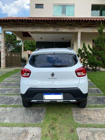 Renault Kwid Outsider 1,0 12V 2020 top de linha.  - Foto 4