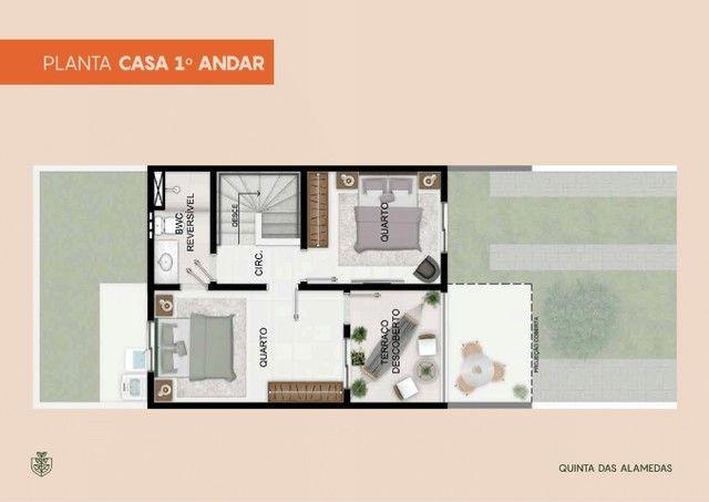 Casas 3 quartos no Luiz Gonzaga - Quintas das Alamedas - André Luis - Foto 6