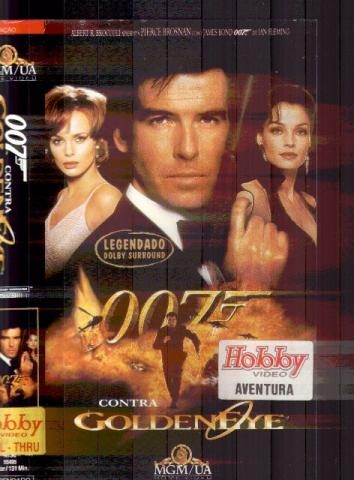 007 Contra Goldeneye ,ano 1995. Fita VHS