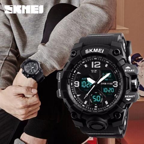 Relógio Masculino Skmei Prova D'água Original lacrado - Foto 2