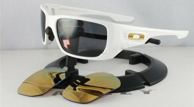b9a5d1780e ... discount code for Óculos oakley style switch shaun polished white lentes  grey polarized e 24k iridium