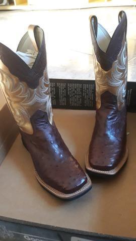 3069a2762ae Bota Couro de Avestruz - Brazil Country - Roupas e calçados ...