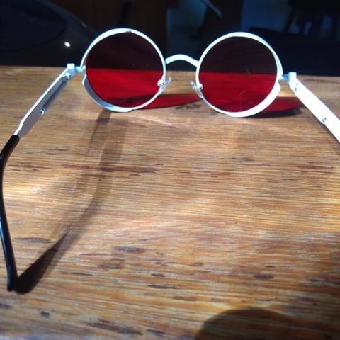 5de857f365044 Oculos redondo steampunk diversas cores - Bijouterias