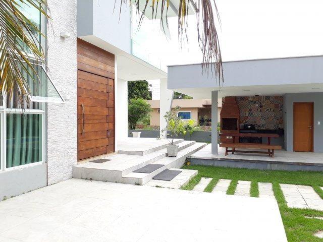 Casa moderna com área de lazer privativa em condomínio fechado   Oficial Aldeia Imóveis - Foto 4