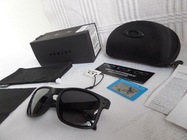 2ac3368def99f Óculos Oakley Holbrook Preto Fosco Prizm - Importado e Novo ...