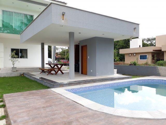 Casa moderna com área de lazer privativa em condomínio fechado   Oficial Aldeia Imóveis - Foto 2