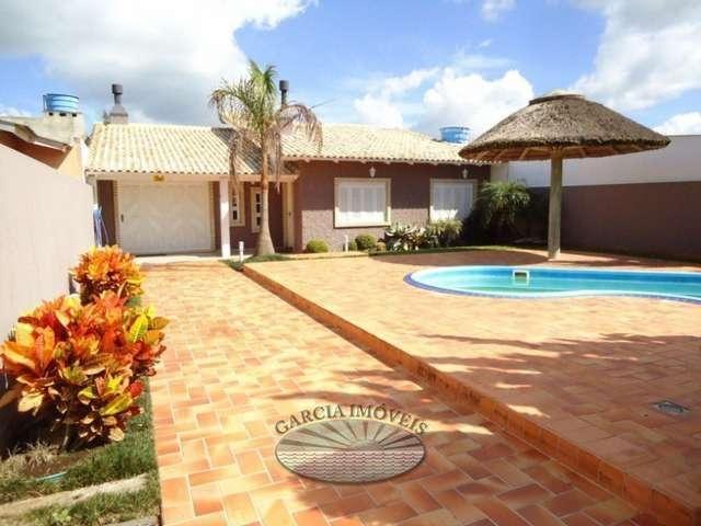 Excelente casa 2dorm + piscina...