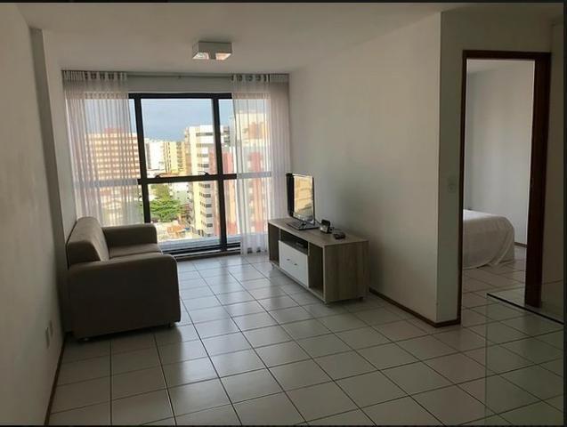 Quarto e sala,nascente na Ponta Verde, varanda, 45 m²,área de lazer completa na cobertura! - Foto 10
