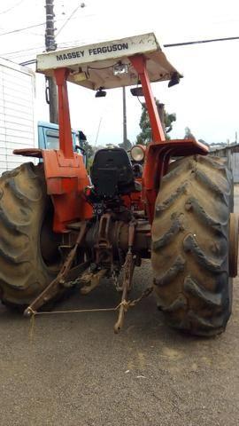 Trator agrícola MF 296 4x2 motor novo - Foto 5