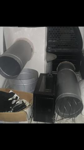 Coifa, dutos e exaustor 220v - Foto 3