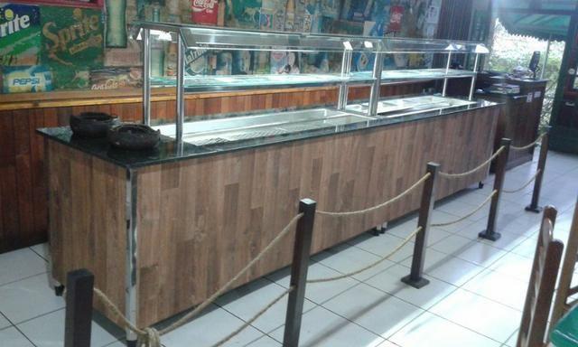 Self service, balcões, banho Maria e montagem de restaurante - Foto 5