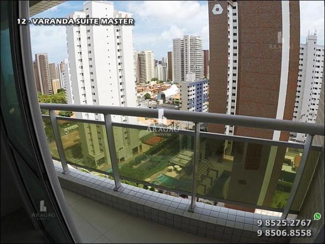 Apartamento à venda, 124 m² por r$ 1.150.000,00 - meireles - fortaleza/ce - Foto 13