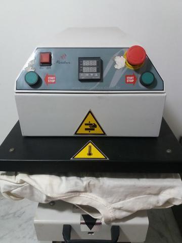 Prensa Térmica da Metalnox Pneumática