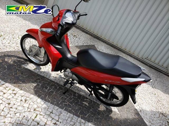 Honda Biz 110 I 2018 Vermelha com 5.000 km - Foto 3