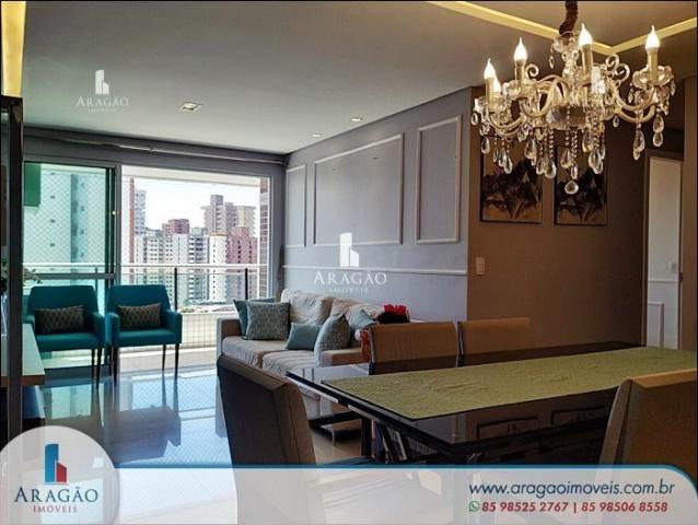 Apartamento à venda, 106 m² por r$ 850.000,00 - aldeota - fortaleza/ce