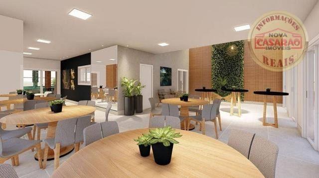 Apartamento com 2 dormitórios à venda, R$ 458.350,00 - Canto do Forte - Praia Grande - Foto 6