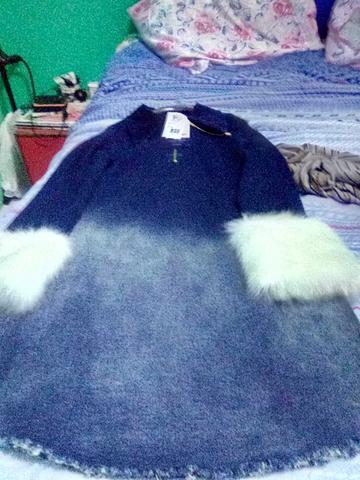 Vestido novo jeans - Foto 2