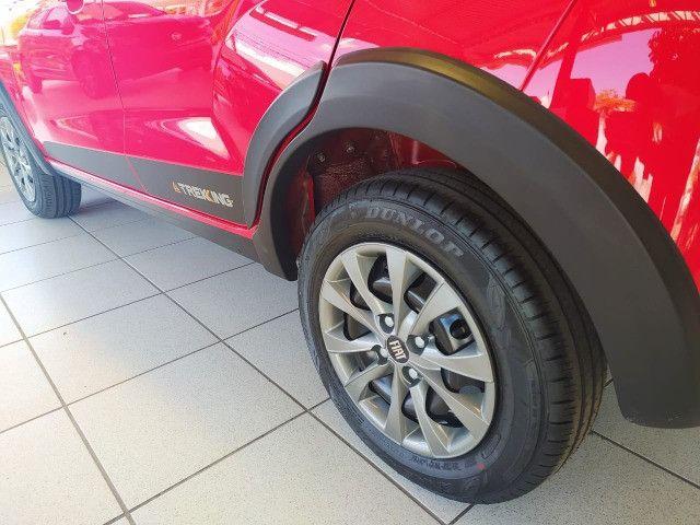 Fiat Mobi Trekking 2021/2021 - Vermelho | Oferta: R$ 50.700 - Foto 10