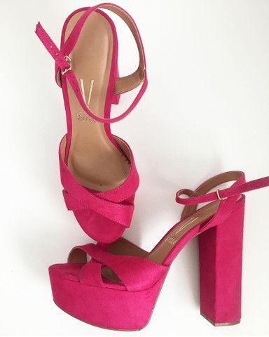 Sandália de Salto PINK - Foto 2
