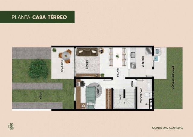 Casas 3 quartos no Luiz Gonzaga - Quintas das Alamedas - André Luis - Foto 2
